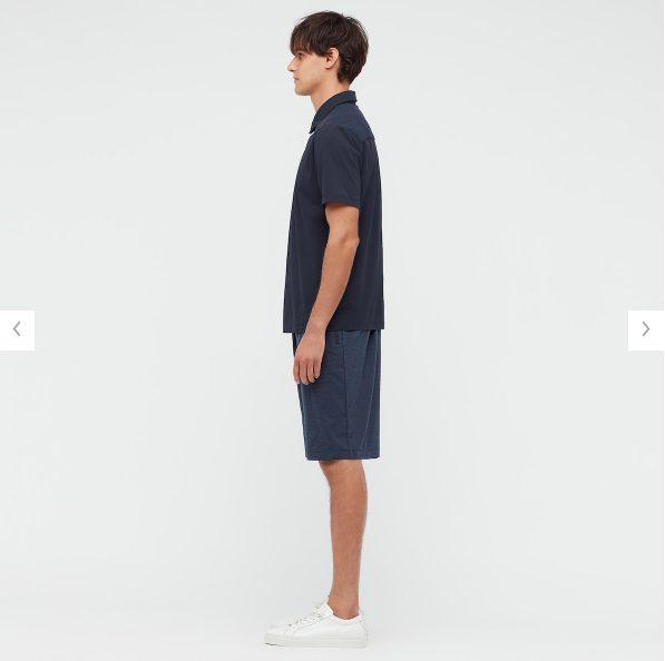 2021sstheoryエアリズムスリムフィットポロシャツのスタイル2