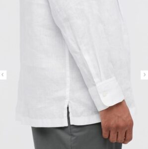 2021ssプレミアムリネンプルオーバーシャツのスタイル4