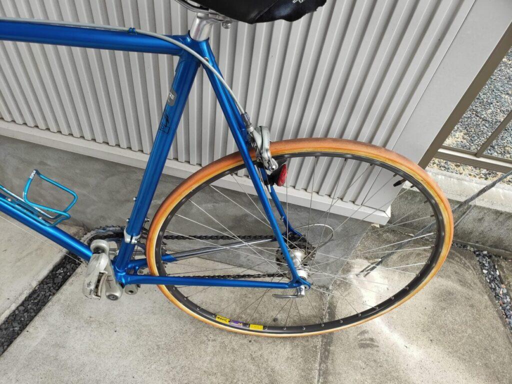 ロードバイクパナソニックとファッションの自転車画像6
