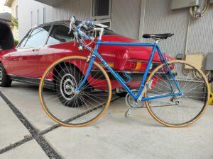 ロードバイクパナソニックとファッションの自転車画像5
