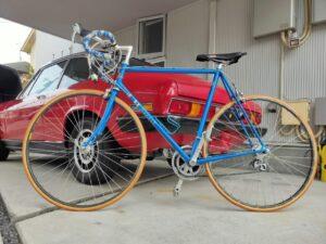 ロードバイクパナソニックとファッションの自転車画像7