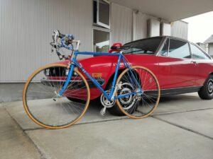 ロードバイクパナソニックとファッションの自転車画像8