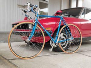 ロードバイクパナソニックとファッションの自転車画像10