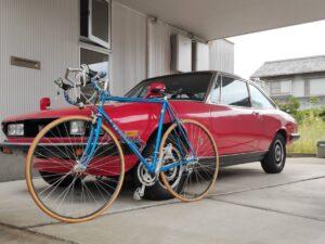 ロードバイクパナソニックとファッションの自転車画像11