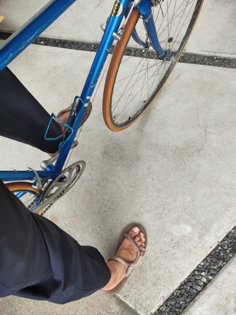 ロードバイクパナソニックとファッションの自転車画像12