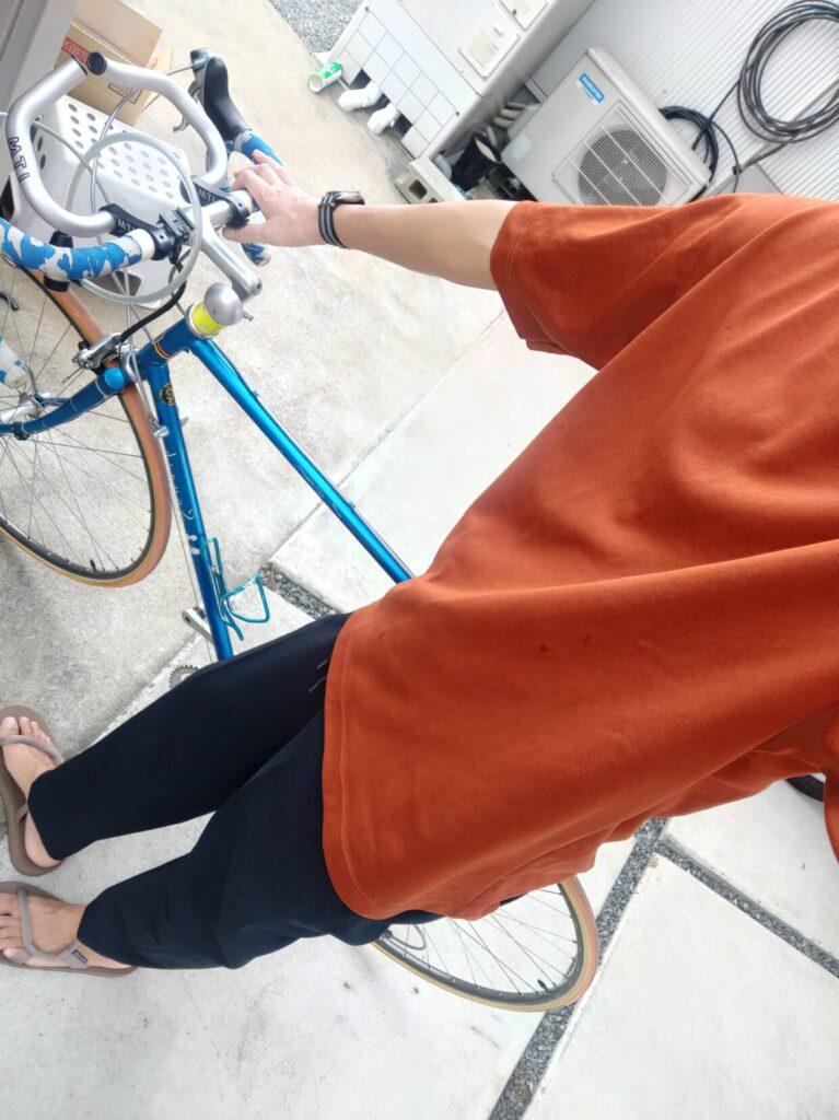 ロードバイクパナソニックとファッションの自転車画像14