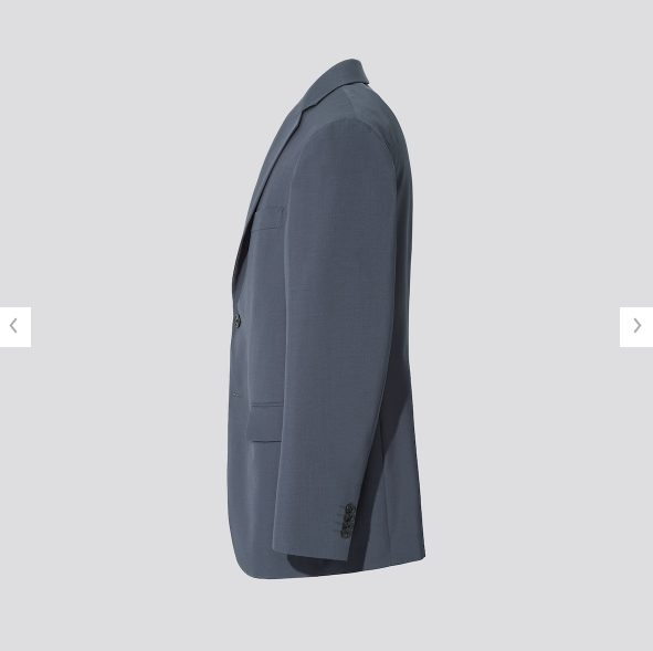 2021ss+Jウールテーラードジャケットダークグレーのスタイル5