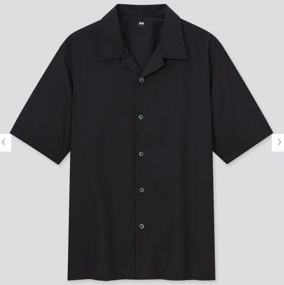 2021SSオープンカラーシャツのスタイル4