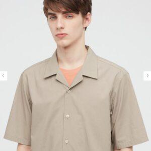2021SSオープンカラーシャツのスタイル1