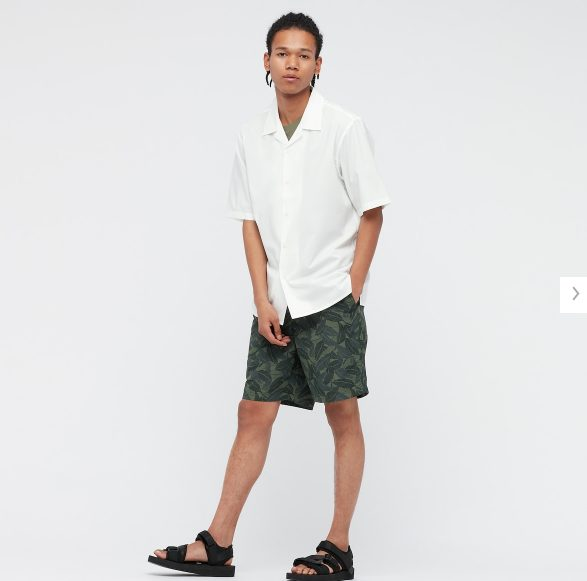 2021SSオープンカラーシャツのスタイル5