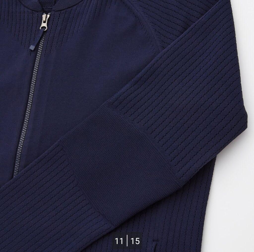2021SSユニクロ+のニットジャケット6