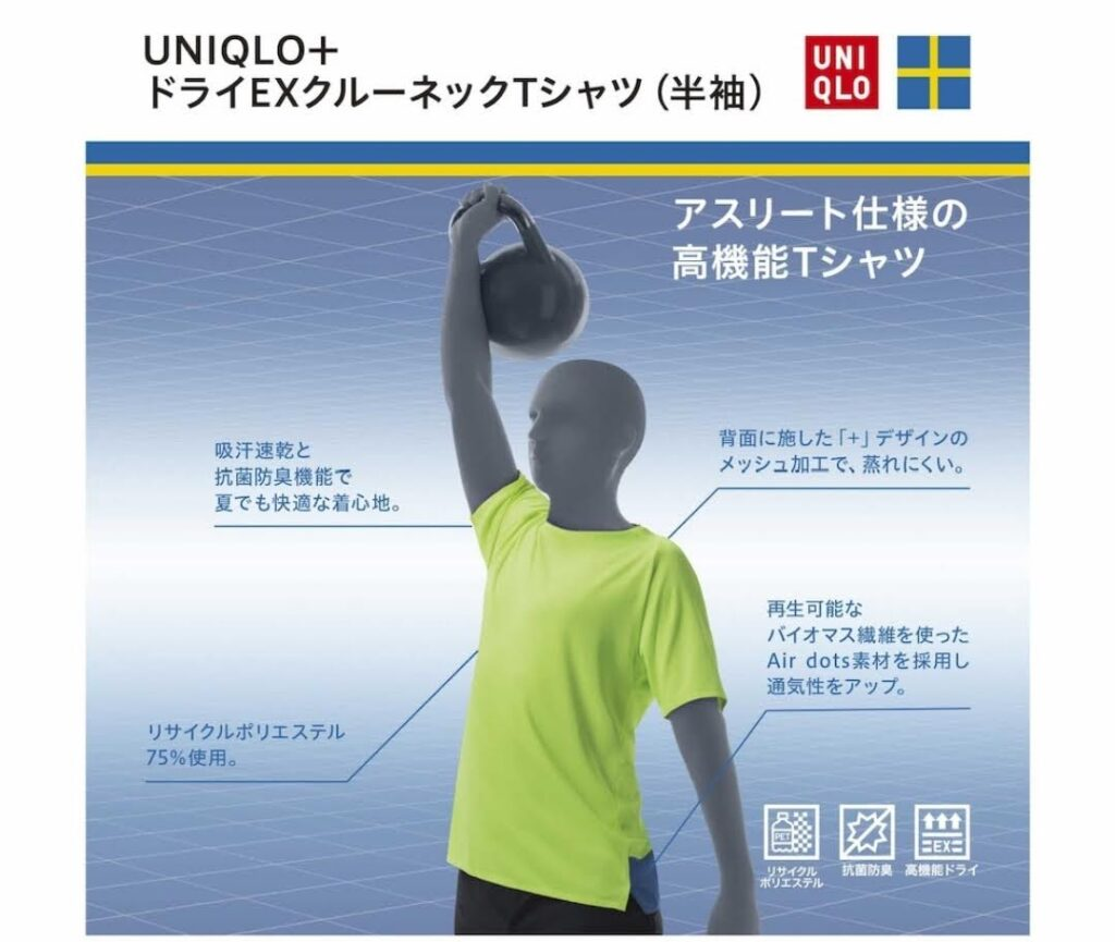 2021SSユニクロ+のTシャツ4
