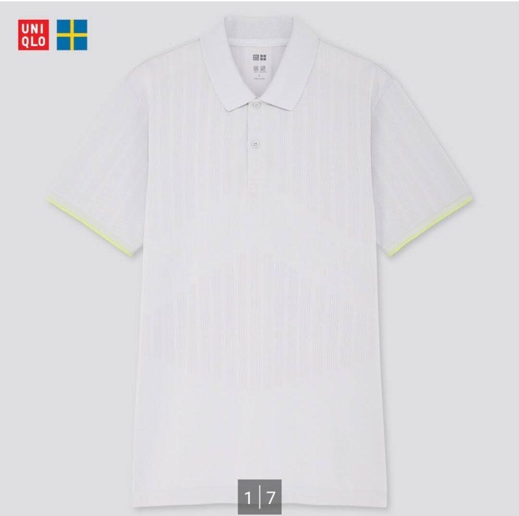 2021SSユニクロ+のポロシャツ5