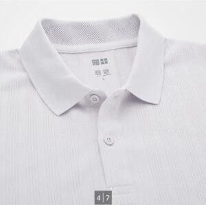 2021SSユニクロ+のポロシャツ3