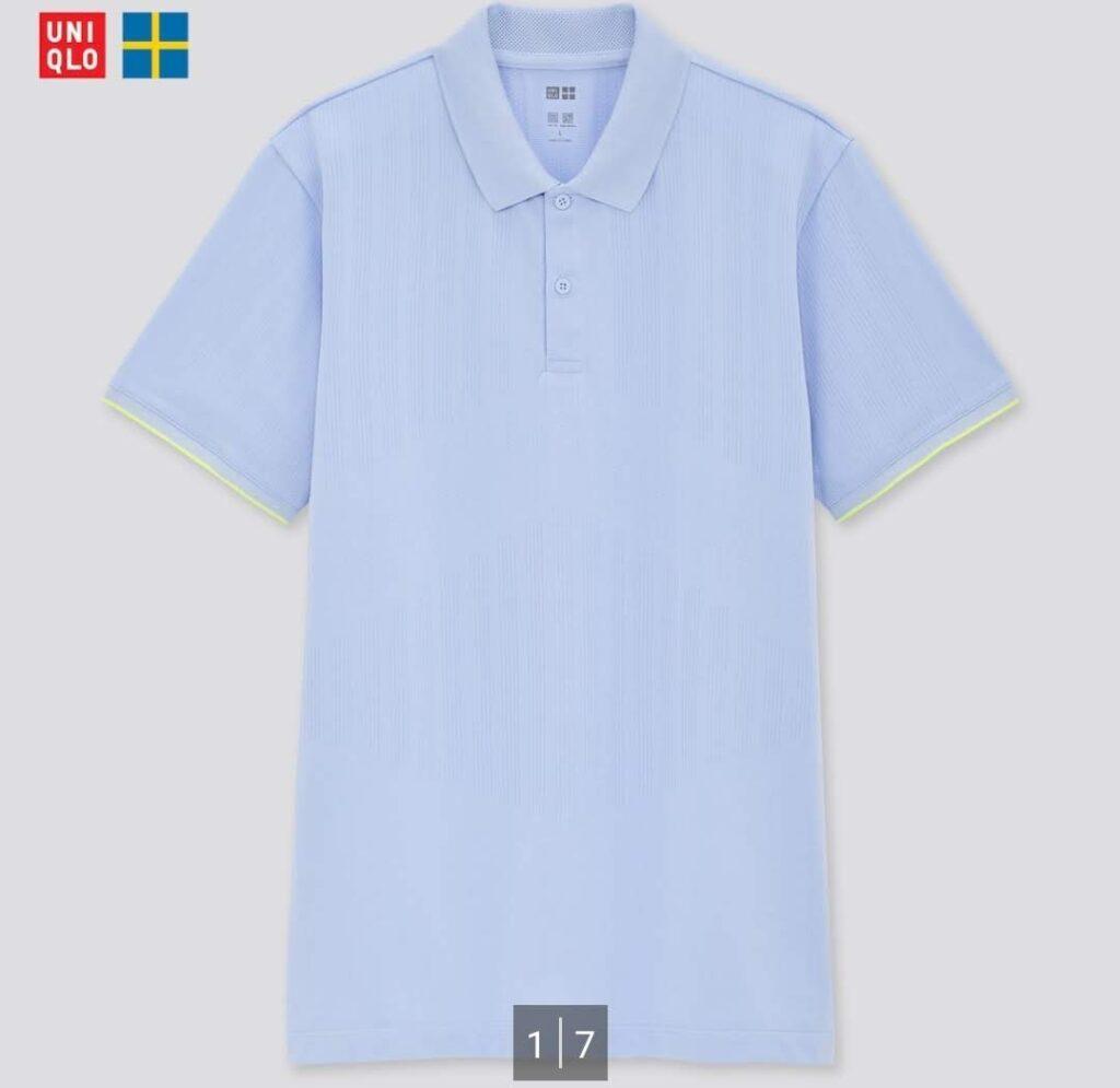2021SSユニクロ+のポロシャツ2