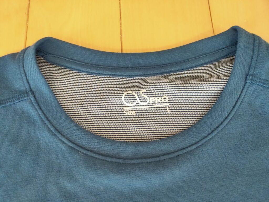 o5proのTシャツ見た目襟