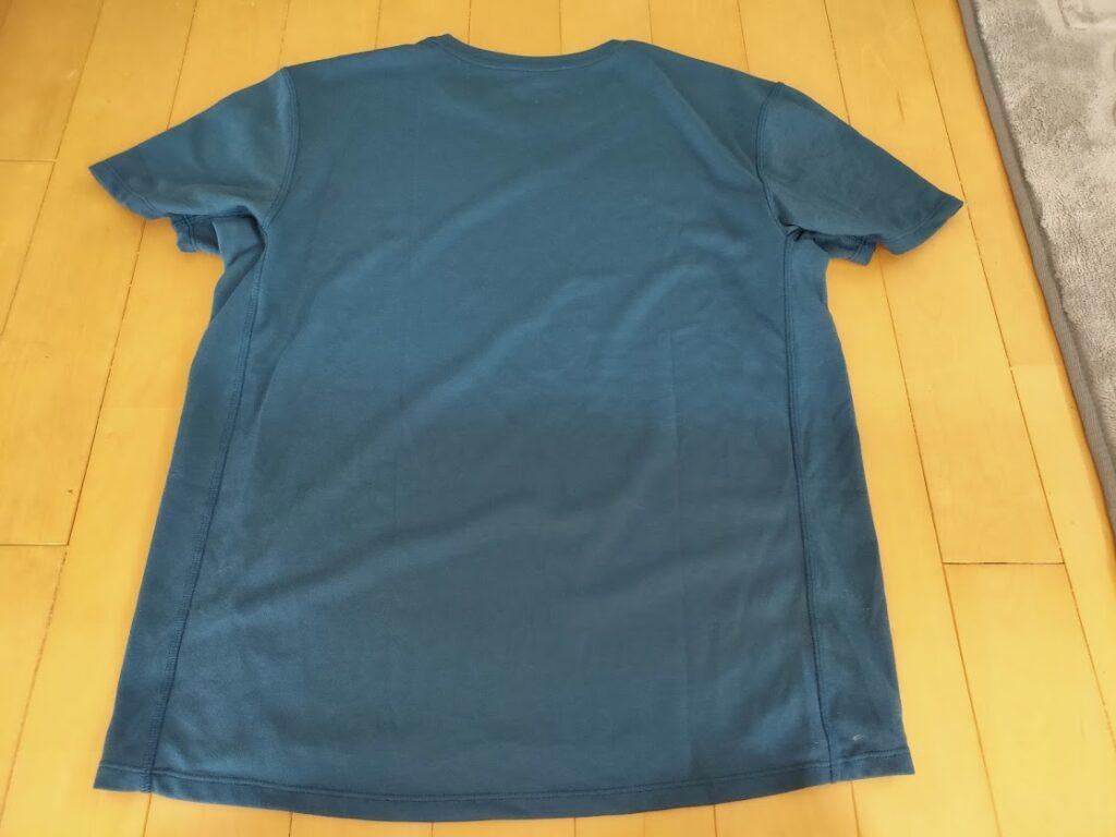 o5proのTシャツ見た目後ろ