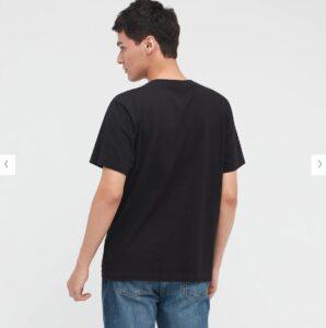 2021秋冬スヌーピーTシャツ黒4