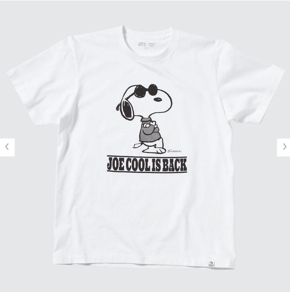 2021秋冬スヌーピーTシャツ白2