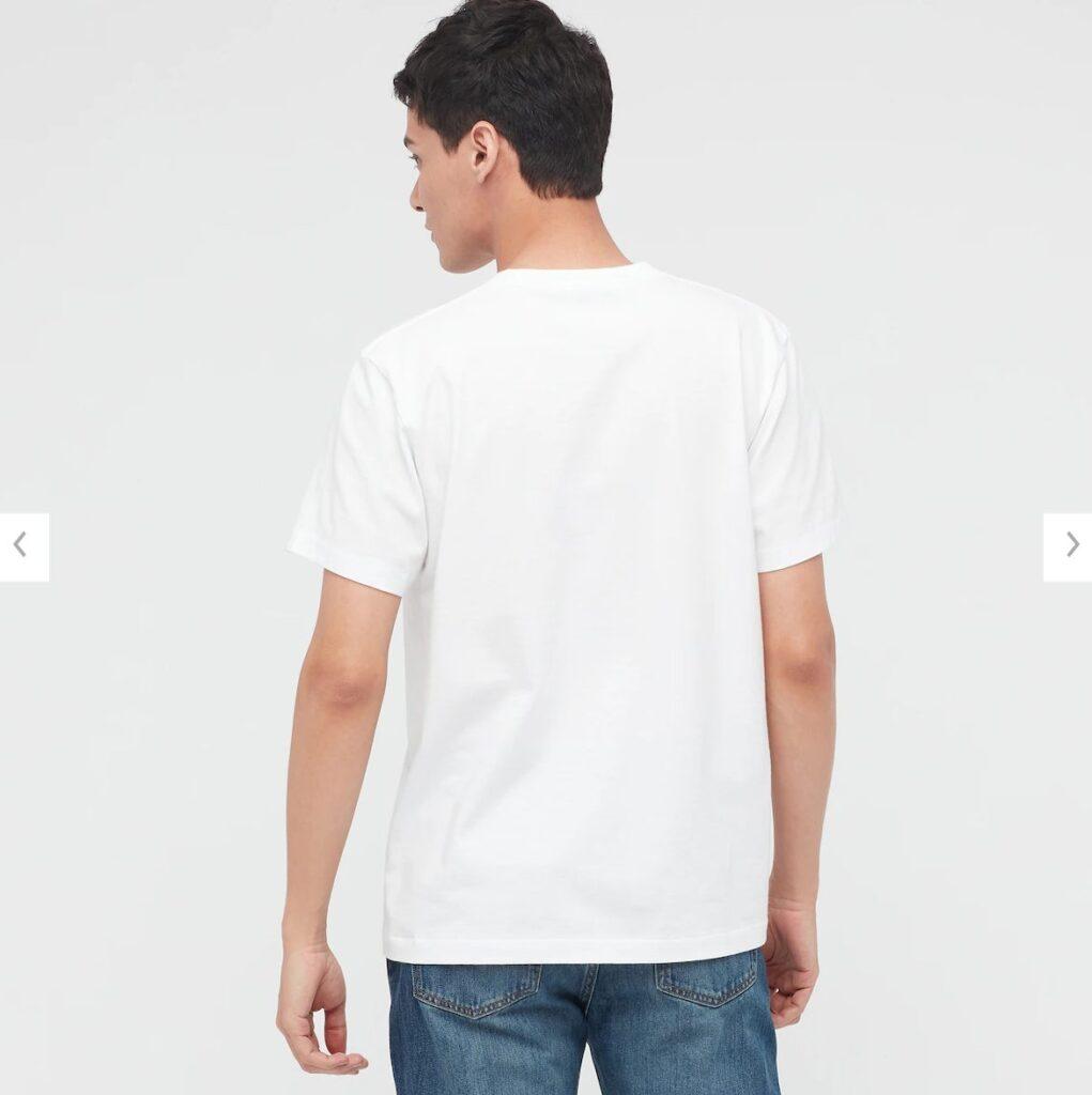 2021秋冬スヌーピーTシャツ白4